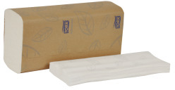 Picture of item 964-723 a Tork Advanced Soft 1-ply Multifold Hand Towels. 10.9 X 9.1 in. White. 3200 count.  Discontinued.  Suggested replacements are 872-512 or 872-510.
