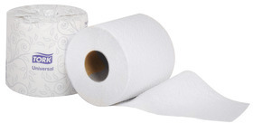 Picture of item 887-631 a Tork 2-Ply Universal Bath Tissue Rolls. 4.5 in X 156.2 ft. White. 96 count.