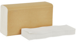 Picture of item 872-513 a Tork Universal 1-ply Multifold Hand Towel. 9.5 X 9.1 in. Natural White. 4000 count.