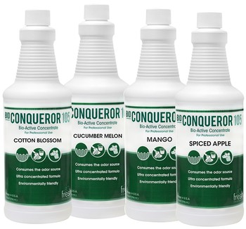 Picture of item 963-137 a Bio Conqueror 105 Spiced Apple Concentrated Cleaner & Deodorizer 12Qts/Case