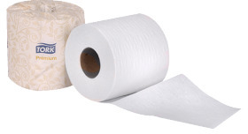 "Picture of item 887-601 a Tork Premium Bath Tissue. 2-Ply Embossed White. 3.8"" X 4"" Sheet Size. 625 Sheets  per roll."
