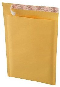 "Picture of item 402-329 a Kraft Bubble Mailer.  14.5"" x 20"".  #7 Size.  Self-Sealing Label."