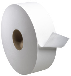 Picture of item 887-632 a Tork Universal Jumbo 1-Ply Bath Tissue. 3.6 in X 4000 ft. 6 count.