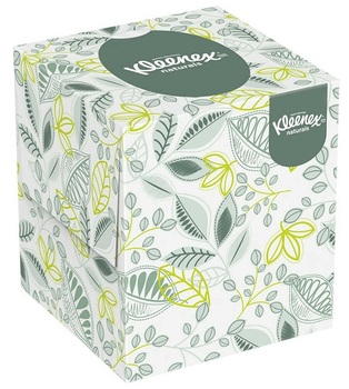 Picture of item 967-766 a Kleenex® Naturals Boutique Facial Tissue. White. 36 count.
