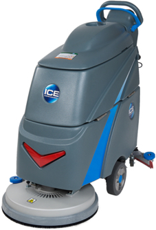 Picture of item ICE-I20NBTLA a i20NBT Walk-Behind Traction-Drive Auto Scrubber with Lead Acid Battery. 20 in.