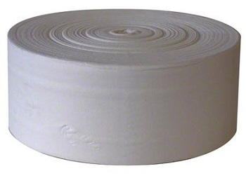 Picture of item 964-775 a JRT Premium 2-Ply Coreless Bath Tissue Roll. 9 in X 1000 ft. 12 count.