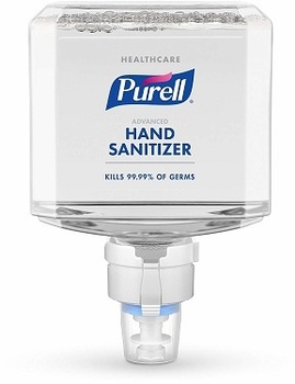 Picture of item GOJ-7753 a PURELL® Healthcare Advanced Hand Sanitizer Foam for ES8 Dispensers. 1200 mL. 2/Case.