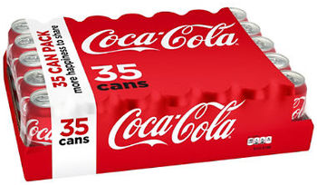 Picture of item 965-406 a Coca-Cola. 12 oz cans. 35 count.