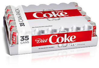 Picture of item 965-404 a Diet Coke. 12 oz cans. 35 count.