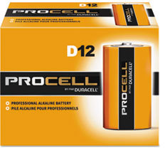 Picture of item 968-458 a Duracell® Procell® Alkaline Batteries, D, 12/Box