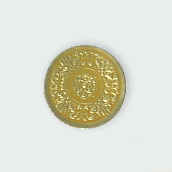 Picture of item 967-963 a Small Medallion Seal. 1 1/4 in. Gold. 250 count.