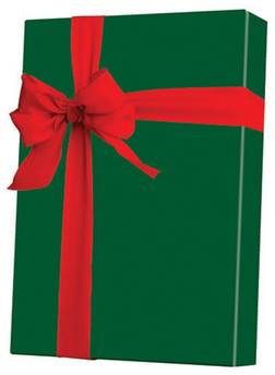 Forest Green Gift Wrap. 24 in X 833 ft.