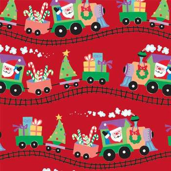 Picture of item 964-827 a Santa Express Gift Wrap. 24 in X 833 ft.