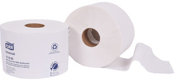 "Picture of item 887-620 a Tork Green Seal™ Controlled-Use OptiCore™ Bath Tissue.  3-3/4"" x 4"".  2-Ply.  White Color.  865 Sheets/Roll."
