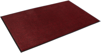 Picture of item 963-609 a Dust-Star™ Heavy Traffic Wiper Mat. 3 X 10 ft. Red.