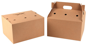 Picture of item 964-873 a Big Barn Kraft Catering Boxes. 12-15/16 X 10-11/16 X 7-5/8 in. 36 count.