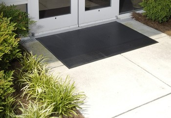 Picture of item 963-613 a Superscrape™ Indoor/Outdoor Floor Mat. 6 X 6 ft. Black.