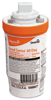 Picture of item DVO-100888677 a Good Sense® 60-Day Air Care System Refill. 1.7 oz./50 mL. Citrus Scent. 6 count.