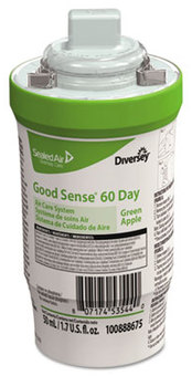 Picture of item DVO-100888675 a Good Sense® 60-Day Air Care System Refill. 1.7 oz./50 mL. Green Apple Scent. 6 count.