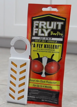 Picture of item 630-402 a Fruit Fly Bar Pro Strips.  Kills bugs for 4 months.  10 Packs/Case.