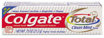 Colgate Total Toothpaste. 0.88 oz. Coolmint flavor. 24 count.