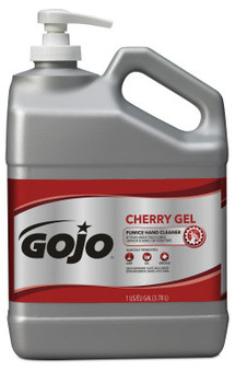 Picture of item 968-444 a GOJO® Cherry Gel Pumice Hand Cleaner. 1 Gallon. 2 Gallons/Case.