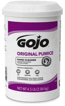 Picture of item 670-104 a GOJO® Original Waterless Creme Pumice Hand Cleaner. 4.5 lb. Lemon scent. 6 count.