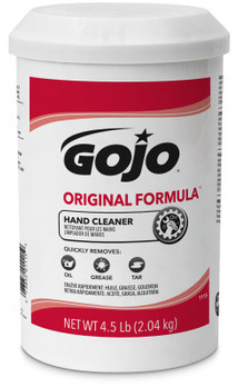 Picture of item 670-103 a GOJO® ORIGINAL FORMULA™ Hand Cleaner. 4.5 lb. White, 6 count.