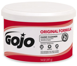 Picture of item 670-107 a GOJO® ORIGINAL FORMULA™ Hand Cleaner. 14 oz. 12 count.