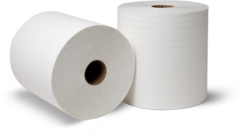 Picture of item 871-416 a Tork® Premium 1-Ply Y-Notch Hand Roll Towels. 8 in X 600 ft. White. 6 rolls.