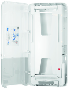 Picture of item 964-949 a Tork PeakServe® Continuous™ Hand Towel Dispenser. White.