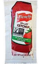 French's Tomato Ketchup Packets. 9 grams. 1000 count.