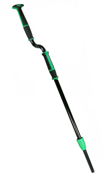 Picture of item 963-729 a Unger Excella™ Offset Pole. 45-65 in. Black and Green.