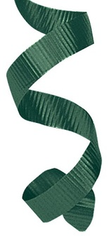Picture of item 964-992 a Splendorette® Curling Ribbon. 3/8 in. X 250 yds. Hunter Green.