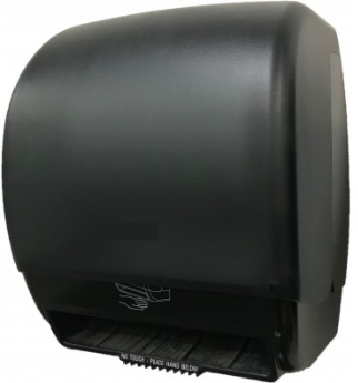 Picture of item NPS-DISP235 a Response® Universal Electronic Roll Towel Dispenser. Black.