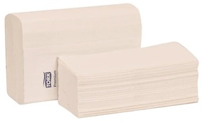 Picture of item 872-514 a Tork Premium 1-Ply Multifold Hand Towels. 9.5 X 9 in. White. 3000 count.