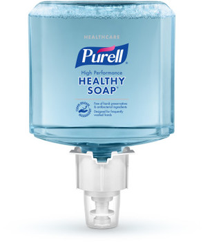 Picture of item GOJ-508502 a PURELL® Healthcare CRT HEALTHY SOAP™ High Performance Foam.  1200 mL Refill for PURELL® ES4 Push-Style Soap Dispensers.