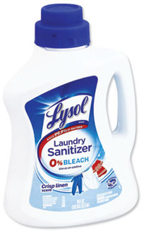Picture of item RAC-95872 a LYSOL® Brand Liquid Laundry Sanitizer. 90 oz. Crisp Linen scent. 4 count.