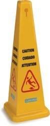 "36"" Yellow Caution Cone"