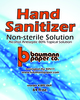 A Picture of product BPC-064 Hand Sanitizer. Liquid Alcohol Antiseptic, 80%. 1/2 Gallon Bottle (64 oz). Limited Run.
