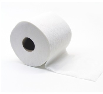 "Picture of item NPS-12440 a Response® Universal 2-Ply Conventional Bath Tissue.  Individually Wrapped 4.5"" x 4.4"". 500 Sheets/Roll, 96 Rolls/Case."
