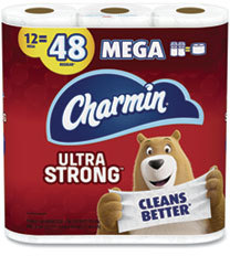 Picture of item PGC-75321 a Charmin® Ultra Strong 2-Ply Bathroom Tissue. White. 4 rolls.