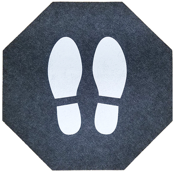 Picture of item 963-791 a Stick-and-Stand Mats. 17 in x 17 in. 6 Mats/Case.