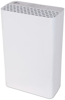 Picture of item ALE-AP101W a Alera® 3-Speed, 215 sq ft Room Capacity HEPA Air Purifier. 12 4/5 X 6 9/10 X 19 7/10 in. White.