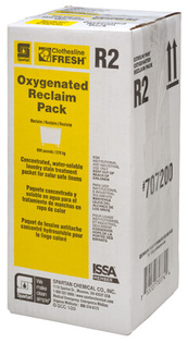 Picture of item SPT-7072 a Clothesline Fresh® Oxygenated Reclaim Pack R2, 500 Gram Packet, 10 water-soluble packets/Case.