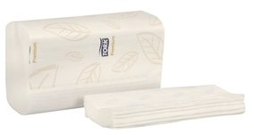 Picture of item 869-510 a Tork Premium Soft Xpress Multifold Hand Towels. White. 2160 towels.