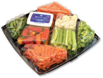 Gourmet Vegetable Tray with Ranch Dressing, 4 lbs, Free Delivery