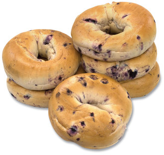 Picture of item GRR-90000007 a Fresh Blueberry Bagels, 6/Pack, Free Delivery