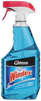 Picture of item 662-307 a Windex Powerized Formula Glass Cleaner with Ammonia-D. Liquid. 32 oz. Trigger Spray Bottle.