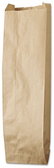 Picture of item 711-202 a Liquor Bag.  Kraft Paper. Quart Size.  35# Basis Weight.  500 Bags/Bale.